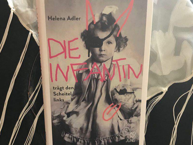 Dirndlpower: Helena Adlers Die Infantin trägt den Scheitellinks