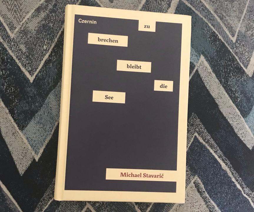 Poetisches Plädoyer: Michael Stavaričs zu brechen bleibt diesee