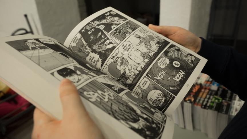 Comics und der österreichischeBuchmarkt